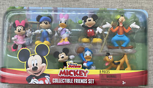 Disney Junior Mickey Mouse Collectible Figure Set 8 Pieces