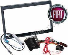 Kit installazione autoradio mascherina adattatore e connettore per FIAT scudo