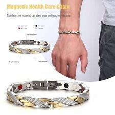 Bio Titanium Steel Magnetic Therapy Bracelet Health Care Gift Trendy Charming BU