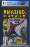 Amazing Fantasy 15 (Marvel) CGC 9.8 Facsimile Edition Reprint Spider-Man Label
