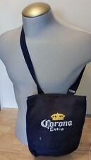 CORONA EXTRA BEER CROSS BODY SHOULDER TOTE BAG PURSE CANVAS