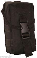 triple ammo magazine pouch modular molle black fox 56-741