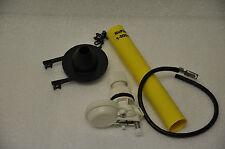 NuFlush Mini Pilot Water Valve, one extension Tube and soft rubber flapper valve