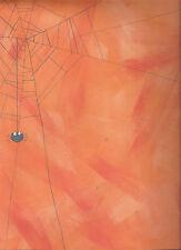 ORANGE SPIDERWEB Halloween 12 x 12 Paper - 2 Sheets