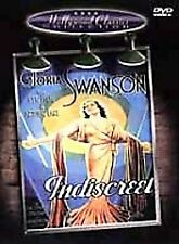 Indiscreet (DVD, 2001, Hollywood Classics Collection) w/Gloria Swanson