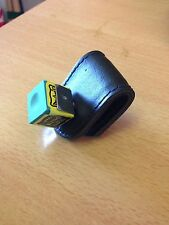 Magnetic Leather Snooker/Pool Chalk Holder with Chalk