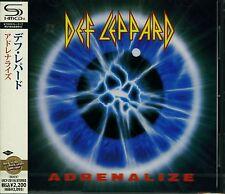 DEF LEPPARD ADRENALIZE 2011 JAPAN RMST SHM HIGH FIDELITY FORMAT CD