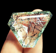 Certified Loose Gemstone Rutilated Quartz Gems 61.15 Ct