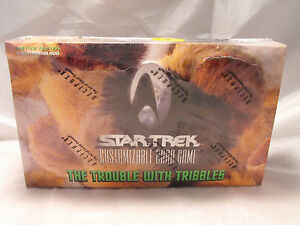 STAR TREK CCG TROUBLE WITH TRIBBLES SEALED BOX OF 30 BOOSTER PACKS