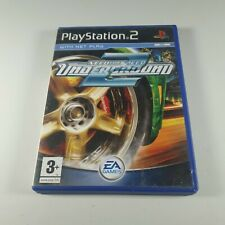 NFS Need for Speed Underground 2 Playstation PS2 Racing Video Game PAL