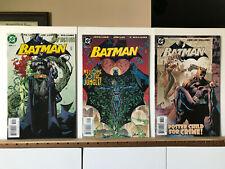 Batman 609 611 613 DC Comics 2003 Hush Harley Quinn Poison Ivy Catwoman Jim Lee