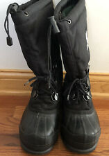 Sorel Youth Boys' Black Snowboard Boots, Size 5, Euc