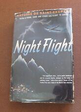 NIGHT FLIGHT by Antoine de Saint-Exupery - Triangle 1942 HCDJ  little prince -NF