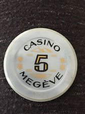 ancien jeton du Casino de Megève