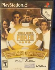 World Series of Poker: Tournament of Champions (Sony PlayStation 2, 2006)