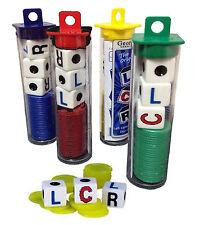 LCR Dice Game Left Right Center Family Fun Night CLR RLC
