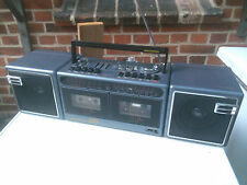 GRUNDIG PARTY CENTER 2200 Stereo Radio Recorder Ghettoblaster Boombox Bj. 1986