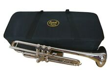 BRAND NEW CHROME Bb TRUMPET FREE CASE+7C MOUTHPIECE+FAST SHIP NEW STUDENTS SALE