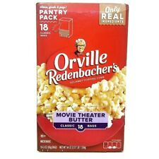 Orville Redenbacher's Movie Theater Butter Popcorn.Gluten Free. 18 Bags (85g)