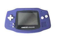 Nintendo Gameboy Advance EUC Indigo Purple Handheld AGB-001 With TETRIS