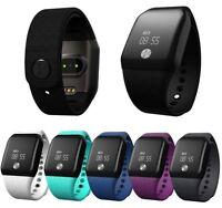 Bluetooth Wrist Activity Tracker Blood Oxygen Heart Rate Monitor Smart Watch