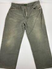 C.C. Filson Men's Green Canvas Work Pants Size 40