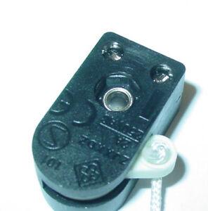 Zugschalter, Seilzugschalter, Lampenschalter, Stehlampe, EIN/AUS, 250V/2A, S129