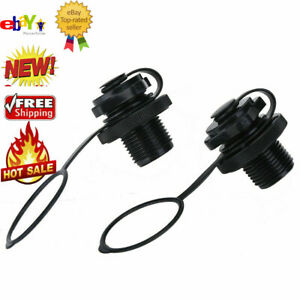 2X Replacement Screw Air Valve Kit for Inflatable Rubber Dinghy Raft Pool Boat❤t