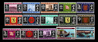 Guernsey, Sc #41-55, MNH, 1971, Decimal Currency Issue, TRD-A