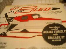 1964 Vintage POLARIS AIR SLED Snowmobile Dealer Brochure
