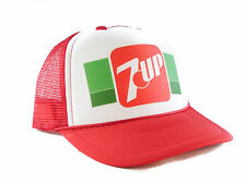 7up soda Trucker Hat mesh hat snapback hat red new