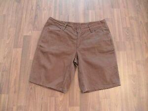 Süße braune Colours of the World Shorts  Gr 38  Stretch