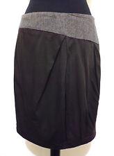 MAX & CO. Gonna Donna Viscosa Lana Woman Rayon Wool Skirt Sz.S - 42