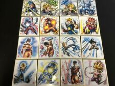 16 Dragon Ball Shikishi Art Sumie-Looking Art Part 10 Regular Complete Set