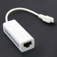 Micro USB to RJ45 LAN Ethernet Network Converter Adapter Cable For Tablet PC
