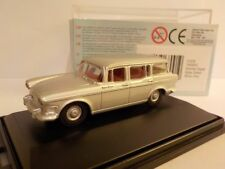 Oxford Diecast Humber Super Snipe Silver Grey 76SS002 1 76