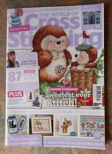 THE WORLD OF CROSS STITCHING # 207 COUNTRY COMPANIONS - CUTE BOOFLE - COTTAGE