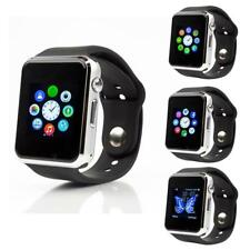 A1 Bluetooth Armbanduhr Smart Watch SIM SD Kartenuhr für Android Samsung iPhone