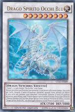 Drago Spirito Occhi Blu CT13-IT009 ULTRA RARA  NUOVA  MINT