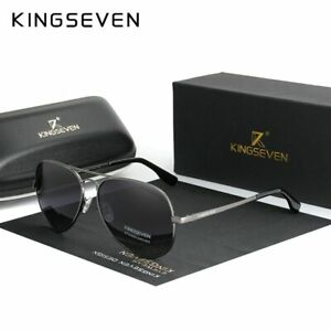 KINGSEVEN Brand Men Aluminum Sunglasses 2020 New Polarized Mirror Male