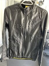 Pedla Cycling Rain Jersey Size L Black
