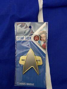 Star trek  Voyager comms badge
