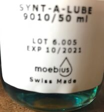 Moebius 9010 synt a lube 1 ml Oil Watch suisse remplissage 1 ml VALIDITE 2021 !!