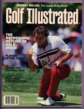 HALE IRWIN AUTHENTIC AUTOGRAPHED / SIGNED 1991 GOLF ILLUSTRATED MAGAZINE W/COA