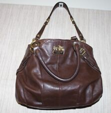Coach Madison Sophia Leather  Brown satchel/shoulder bag # H 1093-15960