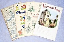 1960's~4 x ESSEX~Local History Guides~VICTORIAN~GEORGIAN~ELIZABETHAN~AND THE SEA