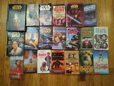 Star Wars and other Paperback Book Lot of 20, Et, king kong, etc.