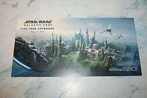 Postcard announcing opening of Star Wars Galaxy's Edge to Employees