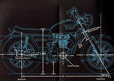 1974 TRIUMPH MotorCycle Brochure:TRIDENT 750,BONNEVILLE,TIGER,DAYTONA,TR5T,TR5MX