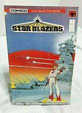 Star Blazers Comico Comic Book Volume One Set of 4 1987 Mini-Series Tv Cartoon